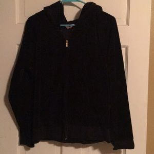 Juicy Couture velour jacket with bling pull